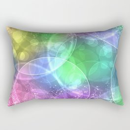 ABSTRACT--FULL Color Rectangular Pillow