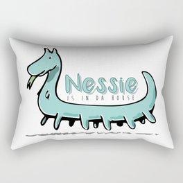 Nessie is in da house Rectangular Pillow
