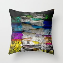 Painting Dreams Throw Pillow
