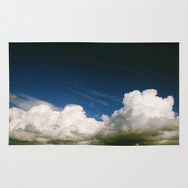 Photography clouds sky Punat Croatia Rug