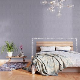 Light pink and blue tapestry 4635 Wallpaper