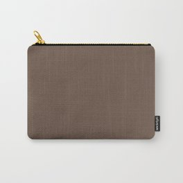 Rich Cocoa (Brown) Color Carry-All Pouch