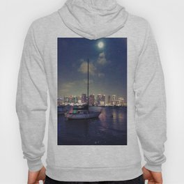 San Diego by Night - Oil Hoody
