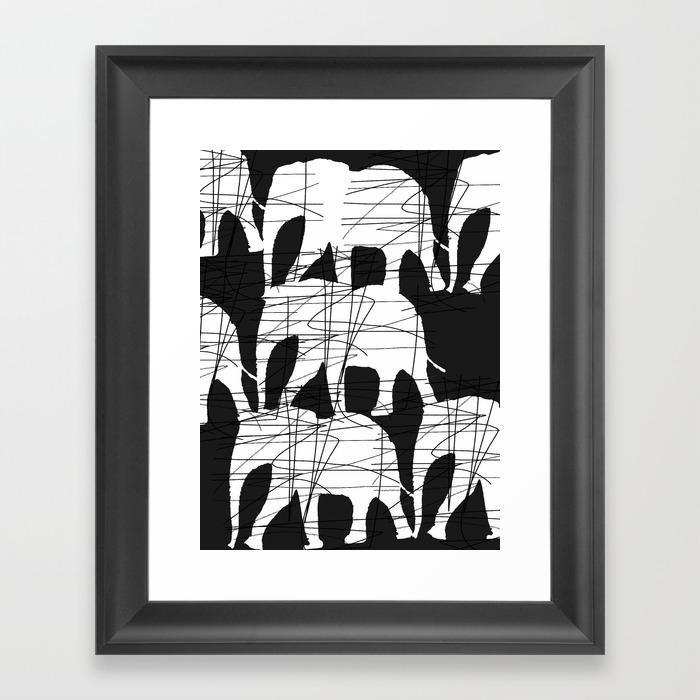 Ele Framed Art Print by Zeewaka FRM8514353