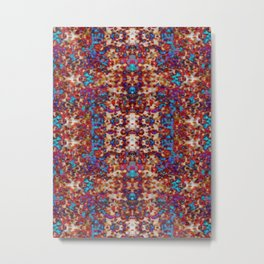 Psychedelic Spills Metal Print