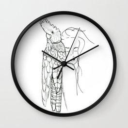 Her Mate Wall Clock