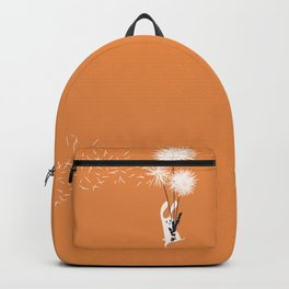 Bunny and Dandelion Bouquet Backpack