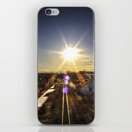 Sunny Midwinter Afternoon iPhone Skin