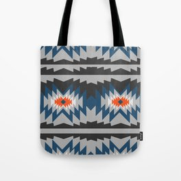 Wintry ethnic pattern Tote Bag