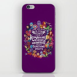 Remarkable People iPhone Skin