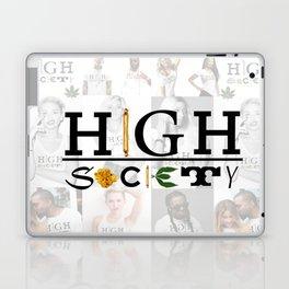 High Society Logo2 Laptop & iPad Skin