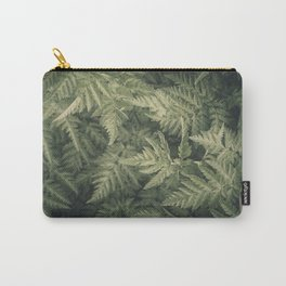 SHADED GREEN FERN Carry-All Pouch