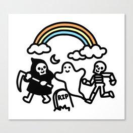 Spooky Pals Canvas Print