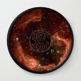 Seal Of Rassilon Wall Clock