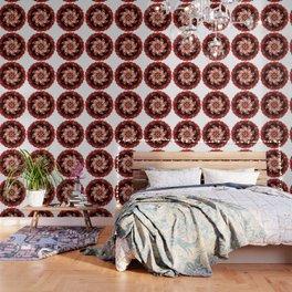 flame crows mandala Wallpaper
