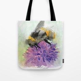 Watercolor Bee 7 Tote Bag