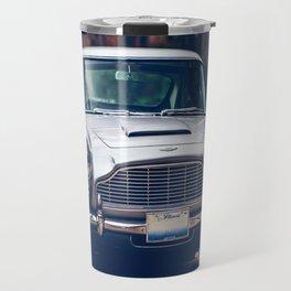 Classic car vintage retro,silver Travel Mug