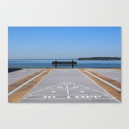Symmetry of The Chesapeake Bay Canvas Print