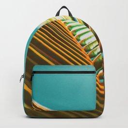 Palm Leaf in Detail Backpack