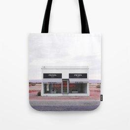 Pink Desert Tote Bag