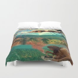 'Amour Fou. She wanted love, love, crazy love' Duvet Cover