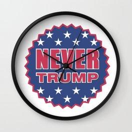 Never Trump Wall Clock