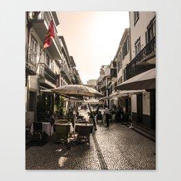 Madeira Street Canvas Print