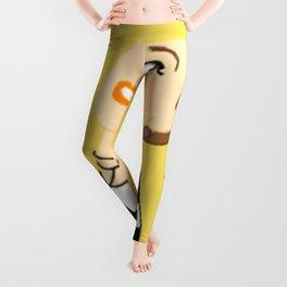 Knock Knock! Chaeyoung Yellow Leggings