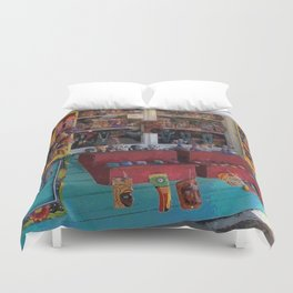 Colorful Key West Duvet Cover