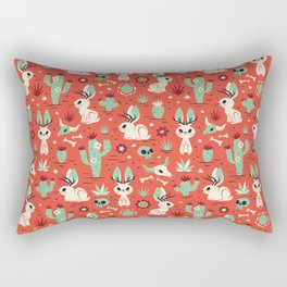 Cryptid Cuties: The Jackalope Rectangular Pillow