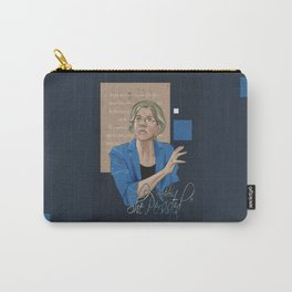 """""""Nevertheless, She Persisted"""" Carry-All Pouch"""