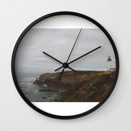 Yaquina Lighthead Wall Clock