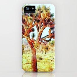 Joshua Tree VG Hills by CREYES iPhone Case
