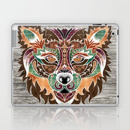 Grr! (Bohemian Bear) Laptop & iPad Skin