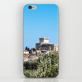 Sermoneta, a walled town iPhone Skin