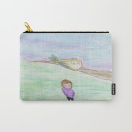 His Eyes Are On the Sparrow and Me Carry-All Pouch