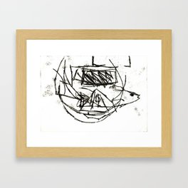 This moment is all there is.  Framed Art Print