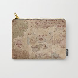 Map of Hyrule- Legend of Zelda Carry-All Pouch