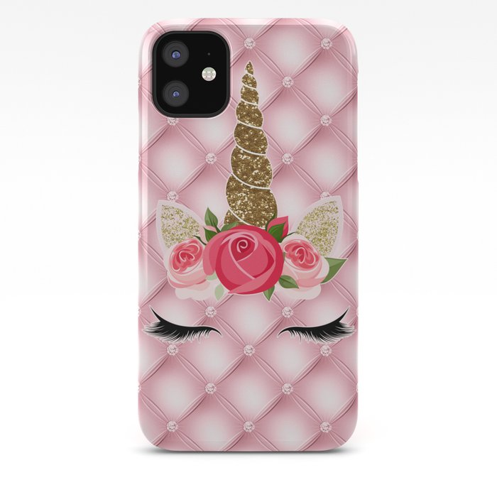 Slim Glitter Unicorn iPhone Case