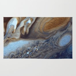 Jupiter's Red Spot Rug