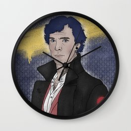Punk 221b Wall Clock