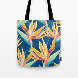 Strelitzia Pattern Tote Bag