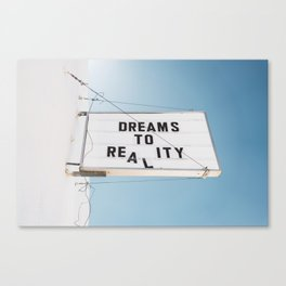 Dreams to Reality Canvas Print