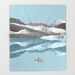 No River Wide Enough Throw Blanket