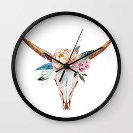 Animal Skull 04 Wall Clock