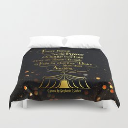 Caraval - Change Your Fate Duvet Cover