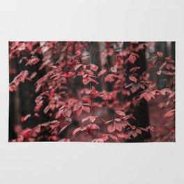 Red Leaves 2 Rug
