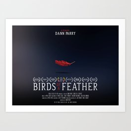 Birds of a Feather - Film Poster Art Print