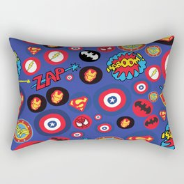 Movie Super Hero logos Rectangular Pillow