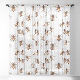 Queen Bee Sheer Curtain